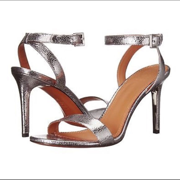 02e304f523572c Tory Burch Elena Metallic Heeled Sandals. M 5adcc48ec9fcdf03906a5c04. Other  Shoes ...